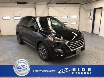 2021 Black Noir Pearl Hyundai Tucson Ultimate Automatic AWD SUV 4 Door