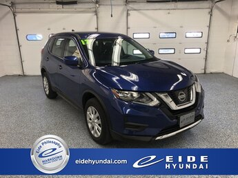 2017 Caspian Blue Nissan Rogue S Automatic (CVT) 2.5L I4 DOHC 16V Engine AWD