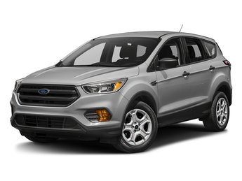 2018 Ingot Silver Metallic Ford Escape S SUV 4 Door Automatic FWD