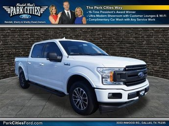 2018 Oxford White Ford F-150 XLT Truck RWD 2.7L EcoBoost V6 with Auto Start/Stop Technology Engine Automatic 4 Door