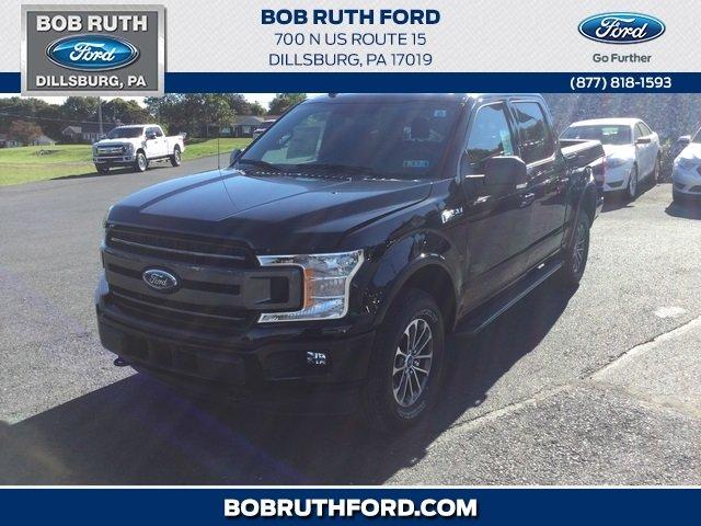 2018 Shadow Black Ford F 150 XLT 4X4 Automatic Truck 4 Door