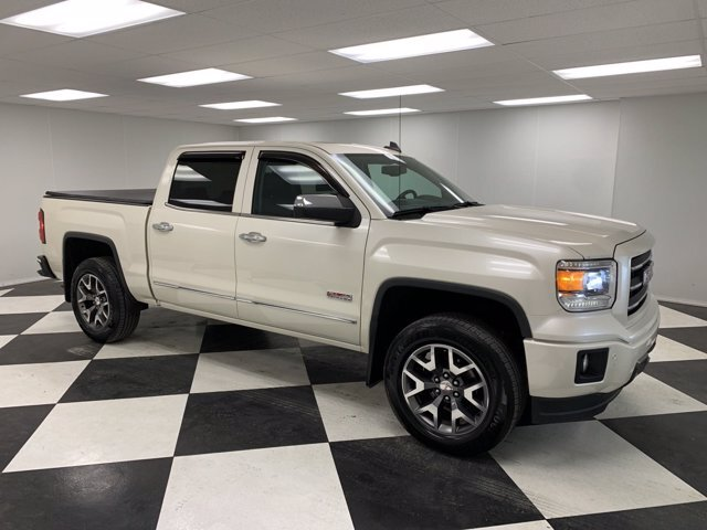 2015 White GMC Sierra 1500 SLT Automatic 4 Door 4X4 Truck Gas V8 5.3L/325 Engine