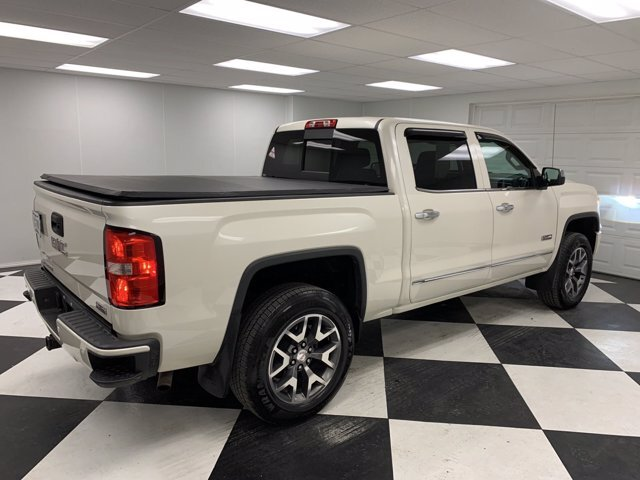 2015 White GMC Sierra 1500 SLT Truck 4 Door Gas V8 5.3L/325 Engine 4X4