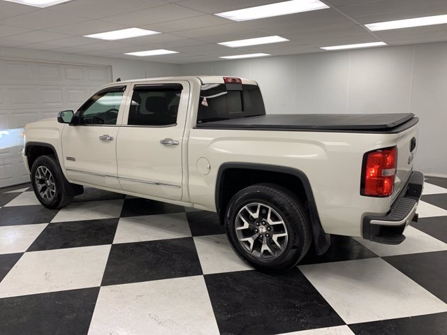 2015 White GMC Sierra 1500 SLT Truck 4X4 4 Door