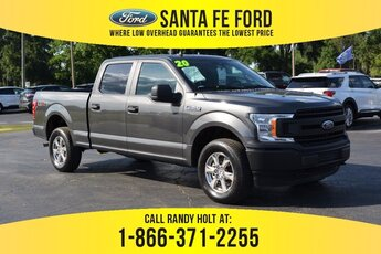 2020 Gray Ford F-150 XL Automatic Regular Unleaded V8 5.0 L Engine 4X4 4 Door