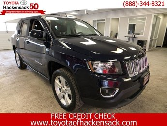2015 True Blue Pearlcoat Jeep Compass High Altitude Edition Regular Unleaded I-4 2.4 L/144 Engine Automatic 4X4 4 Door SUV