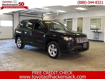2016 Black Clearcoat Jeep Compass Latitude 4X4 Automatic Regular Unleaded I-4 2.4 L/144 Engine SUV 4 Door