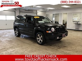 2016 Black Clearcoat Jeep Patriot High Altitude Edition Regular Unleaded I-4 2.4 L/144 Engine 4 Door Automatic 4X4 SUV