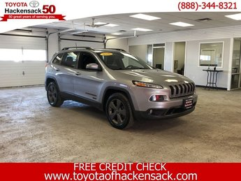 2016 Billet Silver Metallic Clearcoat Jeep Cherokee 75th Anniversary Automatic 4 Door AWD Regular Unleaded V-6 3.2 L/198 Engine