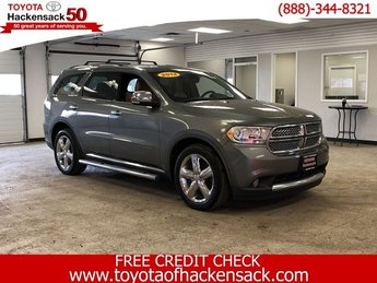 2012 Mineral Gray Metallic Dodge Durango Citadel 4 Door Gas/Ethanol V6 3.6L/220 Engine SUV 4X4 Automatic