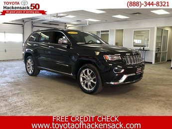2016 Jeep Grand Cherokee Summit Regular Unleaded V-8 5.7 L/345 Engine SUV 4 Door 4X4 Automatic