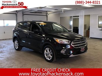 2017 Shadow Black Ford Escape SE SUV 4 Door Intercooled Turbo Regular Unleaded I-4 1.5 L/91 Engine Automatic 4X4
