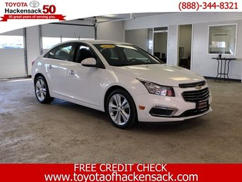 2016 Chevy Cruze Limited LTZ Automatic 4 Door Turbocharged Gas I4 1.4L/83 Engine FWD