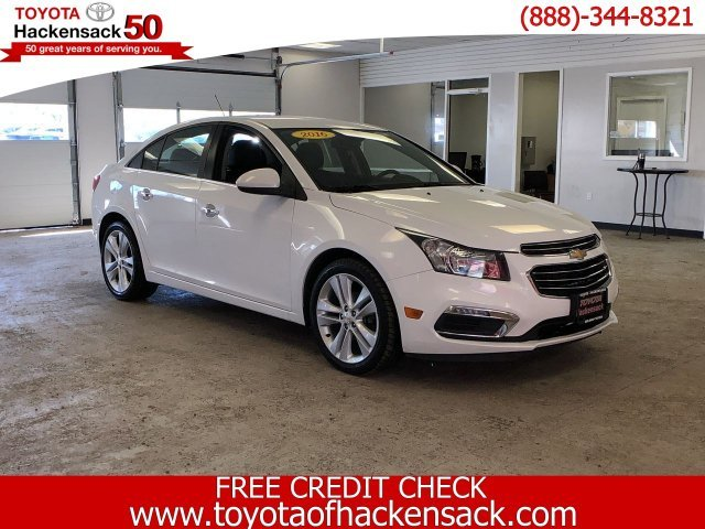 2016 Summit White Chevy Cruze Limited LTZ FWD 4 Door Sedan Automatic
