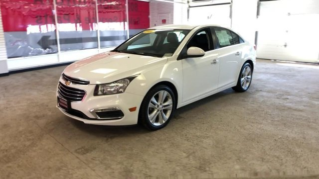 2016 Chevy Cruze Limited LTZ Sedan Automatic FWD 4 Door Turbocharged Gas I4 1.4L/83 Engine