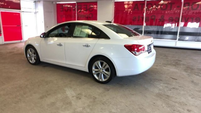 2016 Summit White Chevy Cruze Limited LTZ 4 Door FWD Automatic