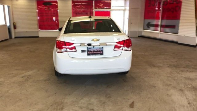 2016 Summit White Chevy Cruze Limited LTZ FWD Turbocharged Gas I4 1.4L/83 Engine Automatic 4 Door