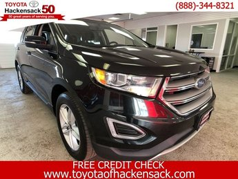 2015 Tuxedo Black Metallic Ford Edge SEL AWD 4 Door SUV