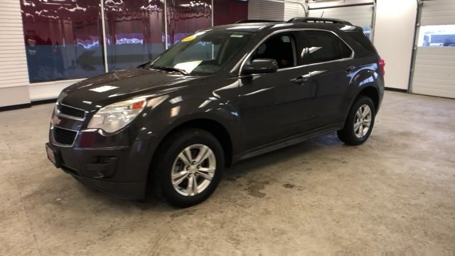2014 Tungsten Metallic Chevy Equinox LT Automatic Gas/Ethanol I4 2.4/145 Engine AWD 4 Door SUV