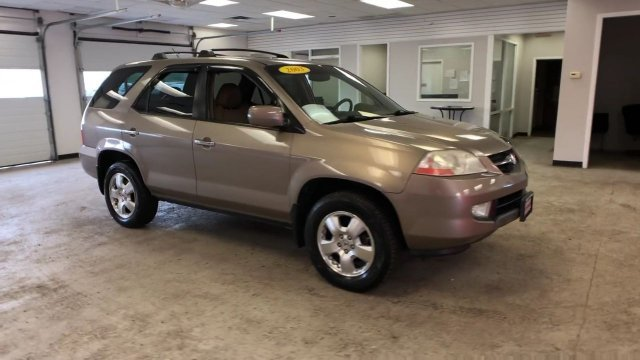 2003 Beige Acura MDX 4DR SUV AT Automatic AWD SUV 4 Door Gas V6 3.5L/214 Engine