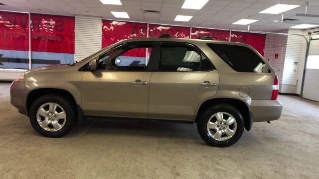 2003 Beige Acura MDX 4DR SUV AT Automatic AWD 4 Door SUV