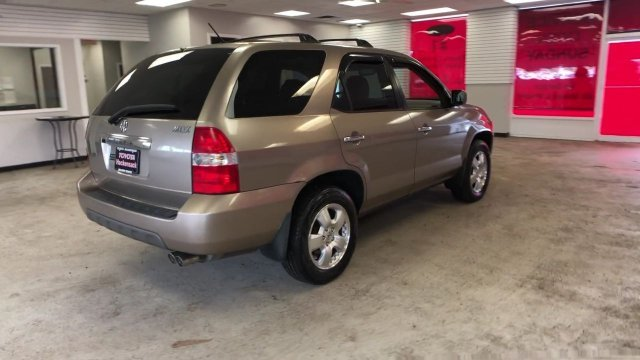 2003 Acura MDX 4DR SUV AT Automatic 4 Door AWD Gas V6 3.5L/214 Engine