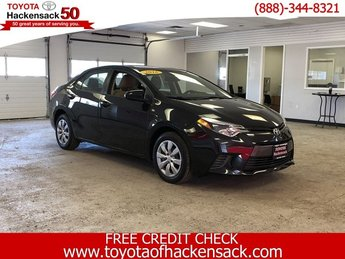 2016 Toyota Corolla LE Automatic (CVT) Sedan Regular Unleaded I-4 1.8 L/110 Engine FWD