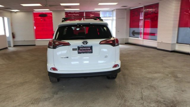 2016 Super White Toyota RAV4 LE 4 Door Automatic AWD SUV