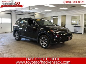 2016 Black Toyota RAV4 Limited Automatic Regular Unleaded I-4 2.5 L/152 Engine 4 Door AWD