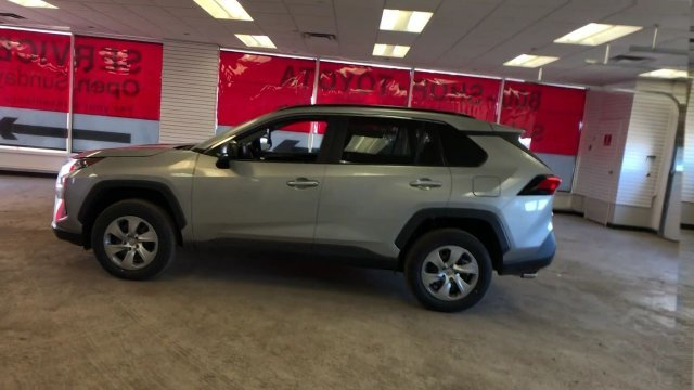 2019 Silver Sky Metallic Toyota RAV4 LE AWD AWD Automatic Regular Unleaded I-4 2.5 L/152 Engine SUV