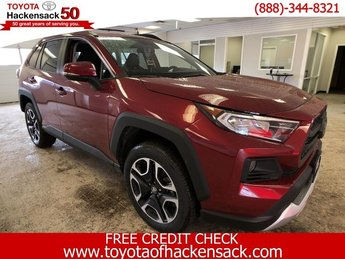 2019 Ruby Flare Pearl Toyota RAV4 Adventure AWD Regular Unleaded I-4 2.5 L/152 Engine 4 Door Automatic SUV
