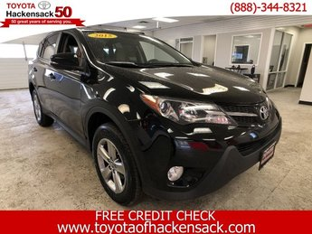 2015 Black Toyota RAV4 XLE 4 Door Automatic SUV Regular Unleaded I-4 2.5 L/152 Engine