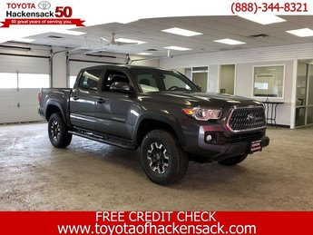 2019 Magnetic Gray Metallic Toyota Tacoma TRD Off Road Double Cab 5 Bed V6 AT Truck Regular Unleaded V-6 3.5 L/211 Engine 4X4 Automatic 4 Door
