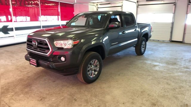 2019 Magnetic Gray Metallic Toyota Tacoma SR5 Double Cab 5 Bed V6 AT 4X4 Truck 4 Door Automatic Regular Unleaded V-6 3.5 L/211 Engine