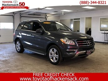 2015 Steel Gray Metallic Mercedes-Benz M-Class ML 350 Premium Unleaded V-6 3.5 L/213 Engine SUV AWD 4 Door Automatic