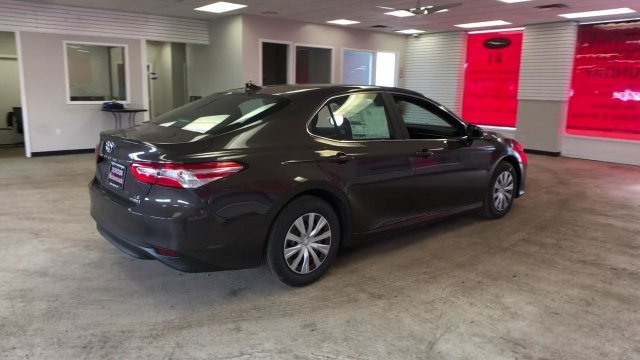 2019 Brownstone Toyota Camry Hybrid LE CVT 4 Door Automatic (CVT) Gas/Electric I-4 2.5 L/152 Engine