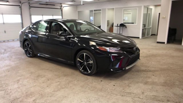 2019 Midnight Black Metallic Toyota Camry XSE Auto Automatic Sedan FWD Regular Unleaded I-4 2.5 L/152 Engine