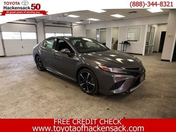 2019 Predawn Gray Mica Toyota Camry XSE Auto Automatic Regular Unleaded I-4 2.5 L/152 Engine Sedan FWD