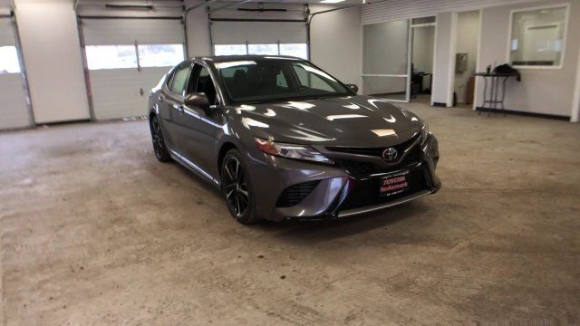 2019 Predawn Gray Mica Toyota Camry XSE Auto Automatic 4 Door Regular Unleaded I-4 2.5 L/152 Engine