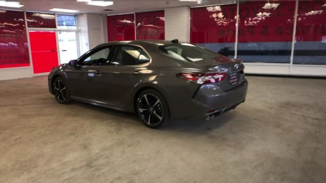 2019 Predawn Gray Mica Toyota Camry XSE Auto Sedan Automatic Regular Unleaded I-4 2.5 L/152 Engine FWD