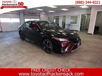 2019 Midnight Black Metallic Toyota Camry XSE Auto 4 Door Sedan Automatic