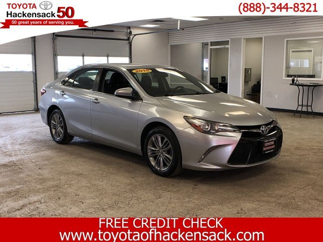 2015 Toyota Camry SE 4 Door Sedan Regular Unleaded I-4 2.5 L/152 Engine