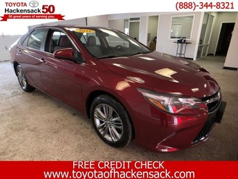 2016 Toyota Camry SE 4 Door FWD Sedan Regular Unleaded I-4 2.5 L/152 Engine