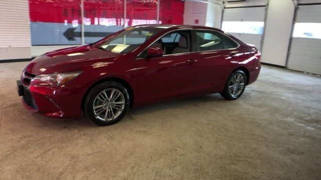 2016 Ruby Flare Pearl Toyota Camry SE FWD Automatic Sedan