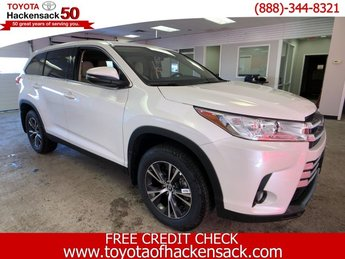 2019 Toyota Highlander LE Plus V6 AWD Automatic SUV Regular Unleaded V-6 3.5 L/211 Engine
