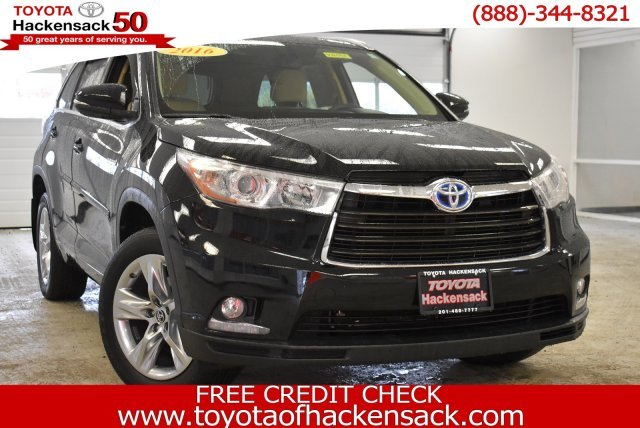 2016 Toyota Highlander Hybrid Limited Suv Gas Electric V 6 3 5 L 211