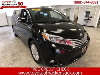 2015 Attitude Black Toyota Sienna Ltd Regular Unleaded V-6 3.5 L/211 Engine Automatic 4 Door Crossover AWD