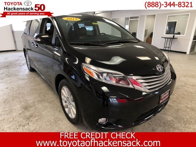 2015 Toyota Sienna Ltd Regular Unleaded V-6 3.5 L/211 Engine AWD Automatic
