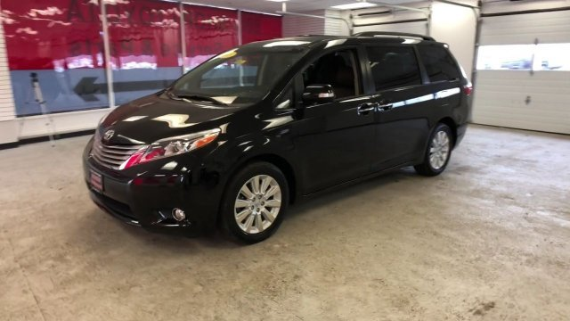 2015 Attitude Black Toyota Sienna Ltd Crossover Automatic 4 Door Regular Unleaded V-6 3.5 L/211 Engine AWD