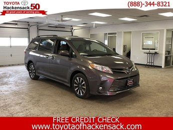 2019 Toyota Sienna XLE Premium AWD 7-Passenger Automatic 4 Door AWD Van Regular Unleaded V-6 3.5 L/211 Engine